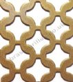 Chain Link Gold Grille Powder Coated Steel Sheet 2000mm x 1000mm x 2mm